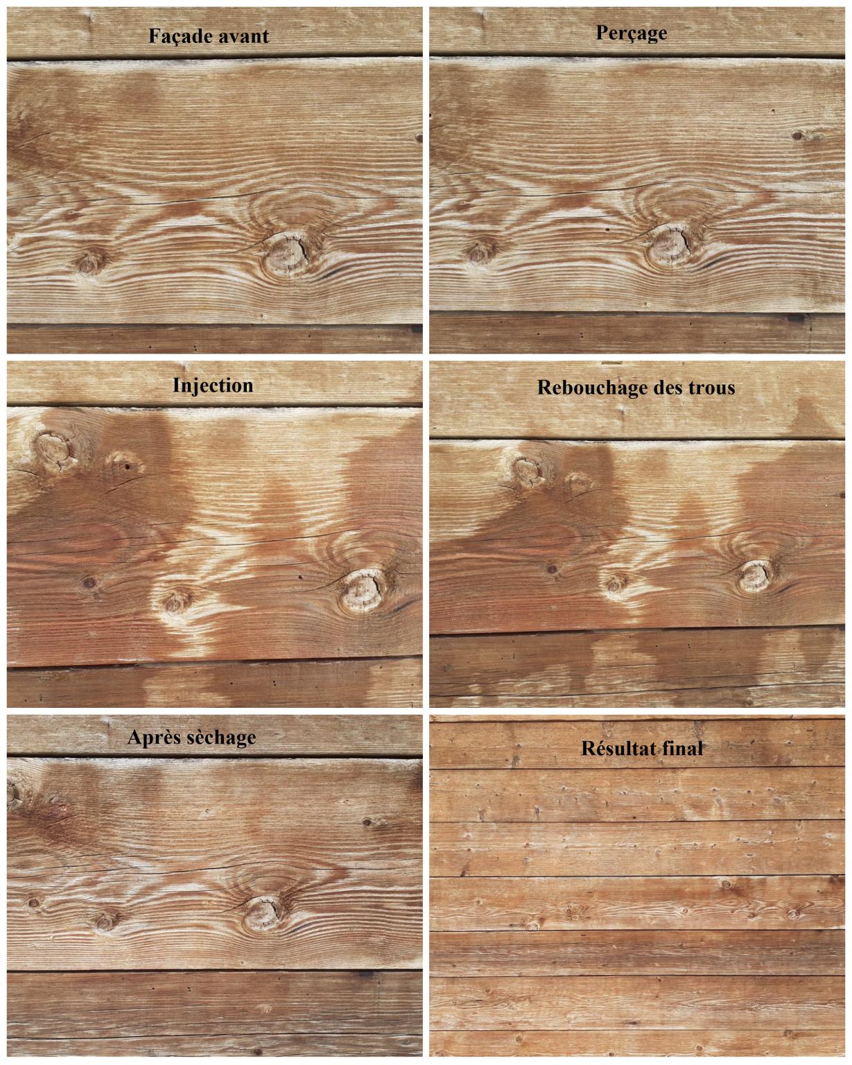 réalisation traitement du bois